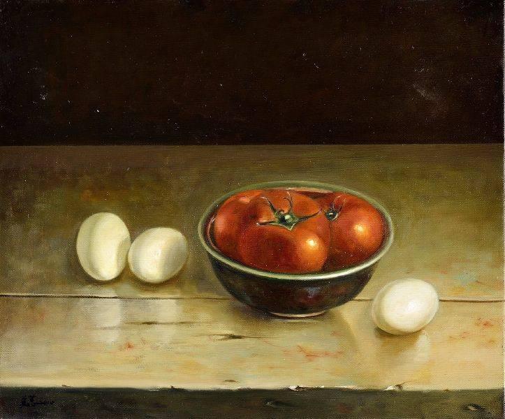 林美蕙-蛋與番茄