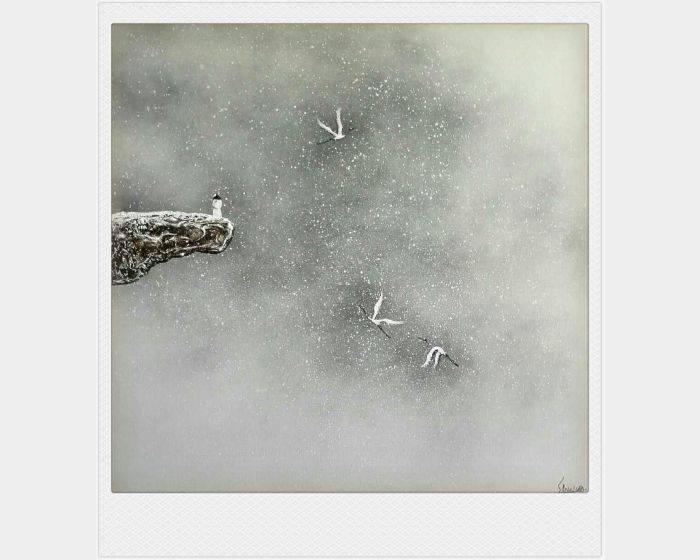 散子(中國)-雪舞迎君•天唯我 The dancing  snow• everything but me