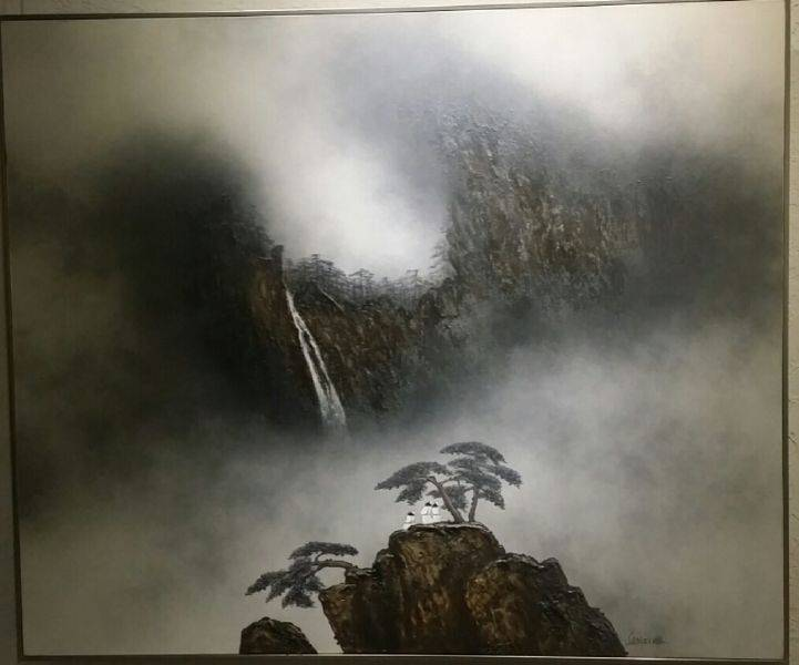 散子-觀瀑