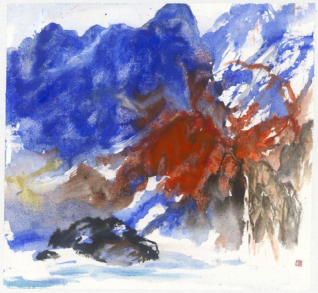 塵三-嵐青赤嶺 Blue Cloud Red Mountain