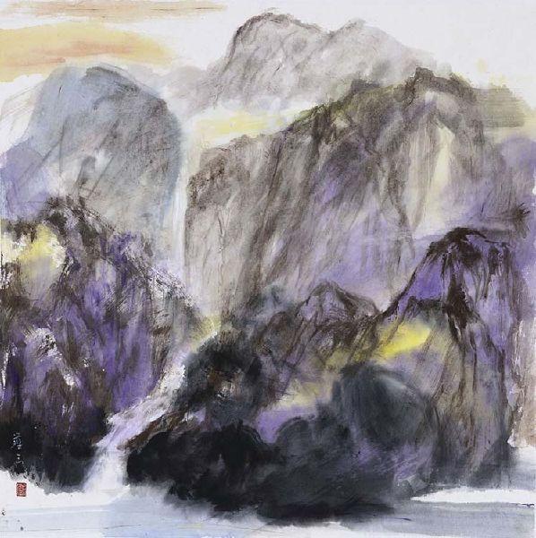 塵三-籠礹 The Caged Mountain Stone