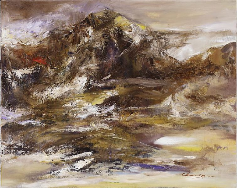 塵三-曉礹Mountains at Dawn