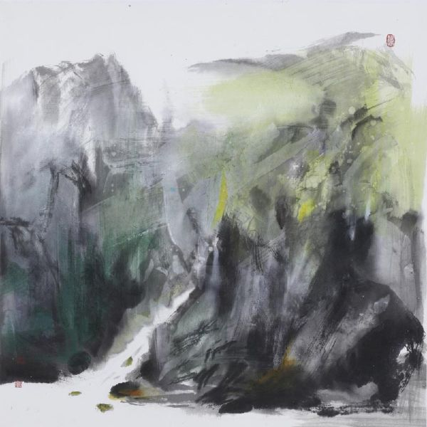 塵三-石澗Spring between Rocks