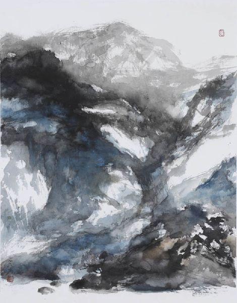 塵三-黛山Cyan-Blue Mountain