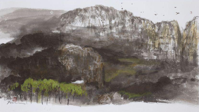 塵三-堅岳Rigid Mountain