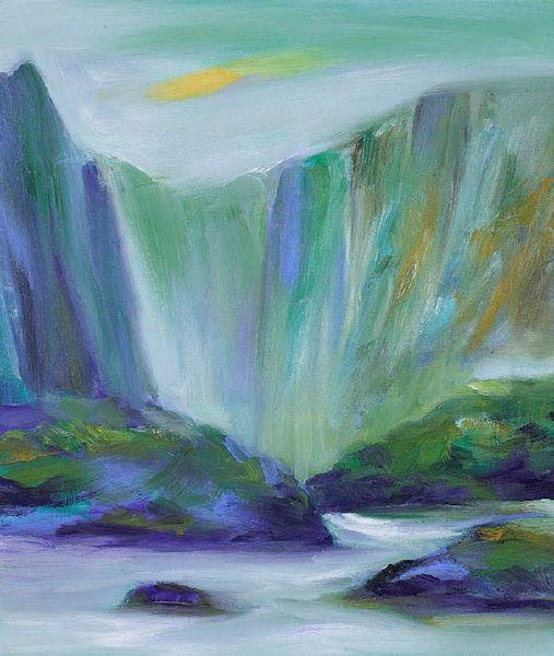 塵三-瀑水 Waterfall