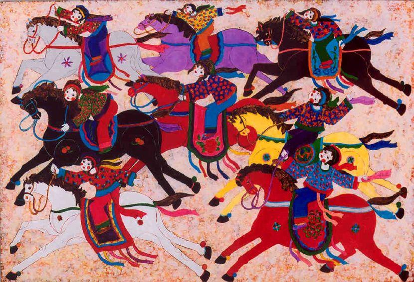 吳昊-放騎共遊