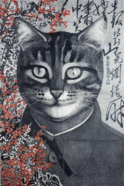 邱節-毛澤東肖像
