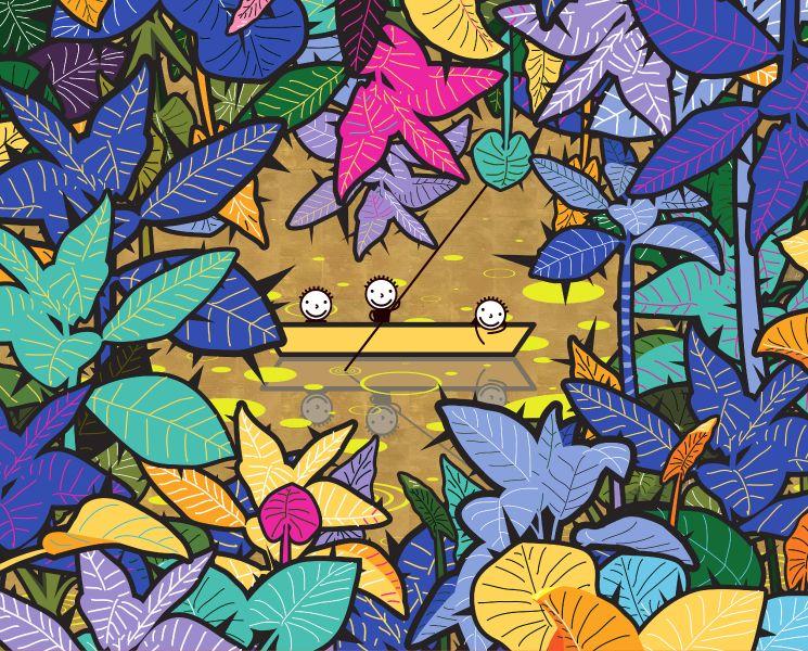 權奇秀-在荊棘中美麗-金色世界Beauty in Thorns-the golden world