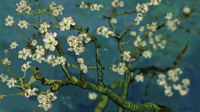 李二男-杏花 Almond Blossom