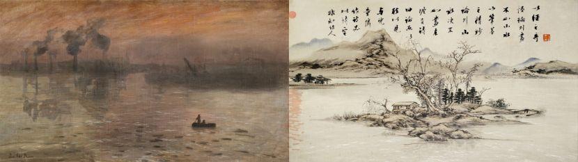李二男-新-莫內與小癡的對話  Conversationbetween Monet & Sochi1