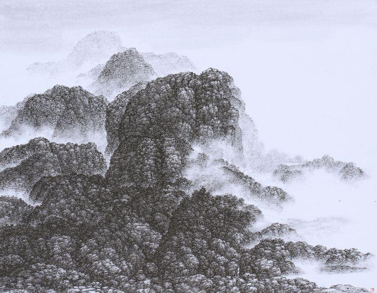 夏一夫-山景 Mountain Scene