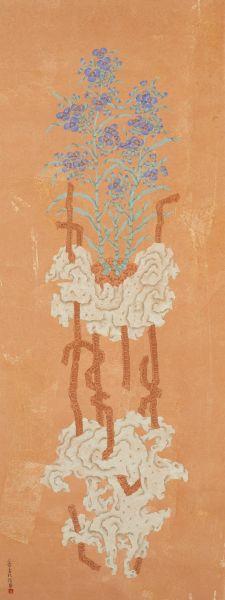 潘信華-鋼筋花卉No.1