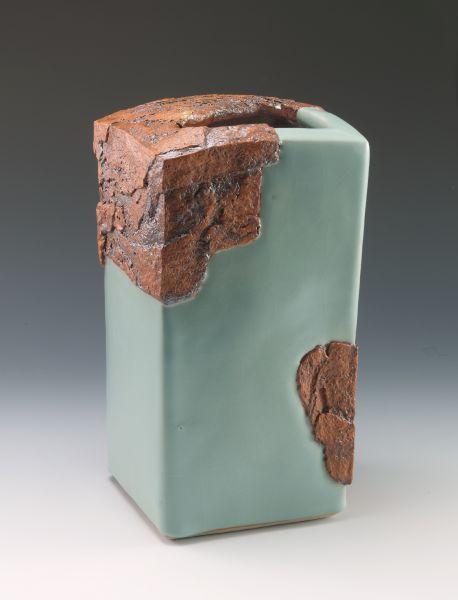 林振龍-陶跡瓷韻系列方瓶