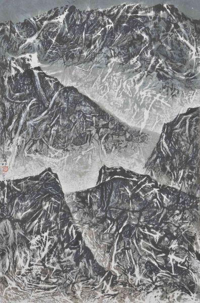 劉國松-山高.水遠.茫茫尋