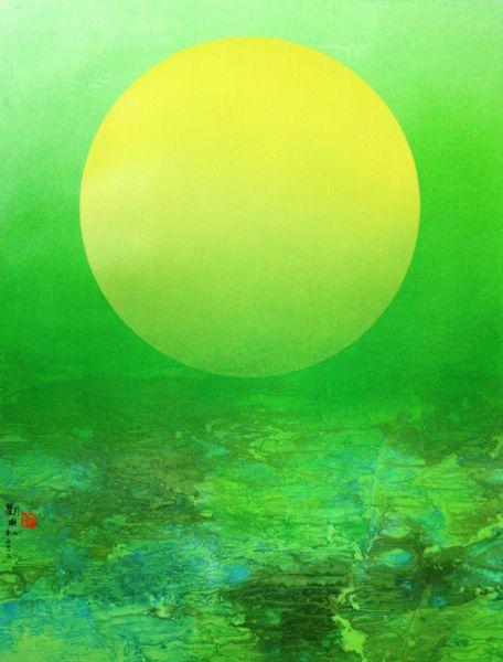 劉國松-映月之光