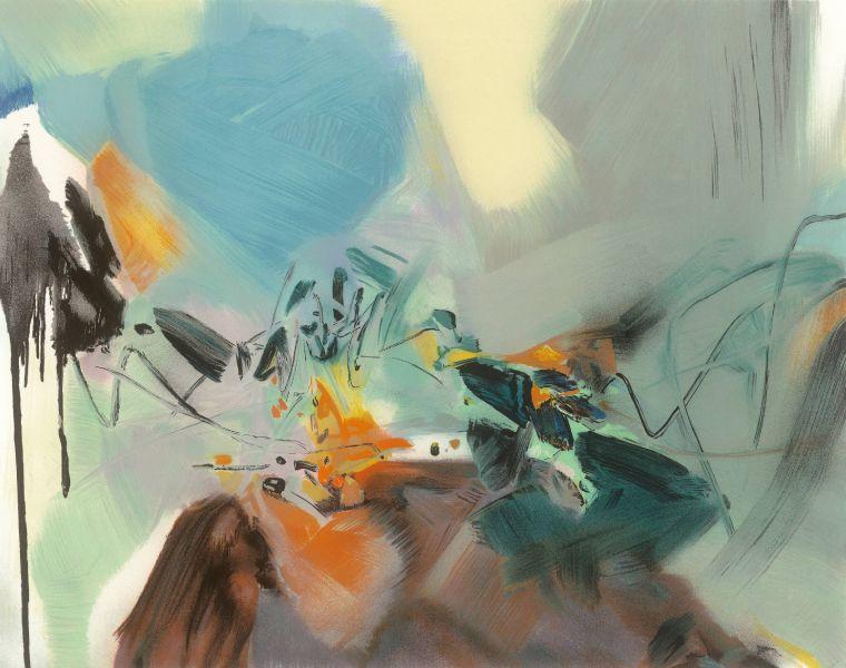 朱德群-抽象的風景