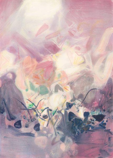 朱德群-淡紫