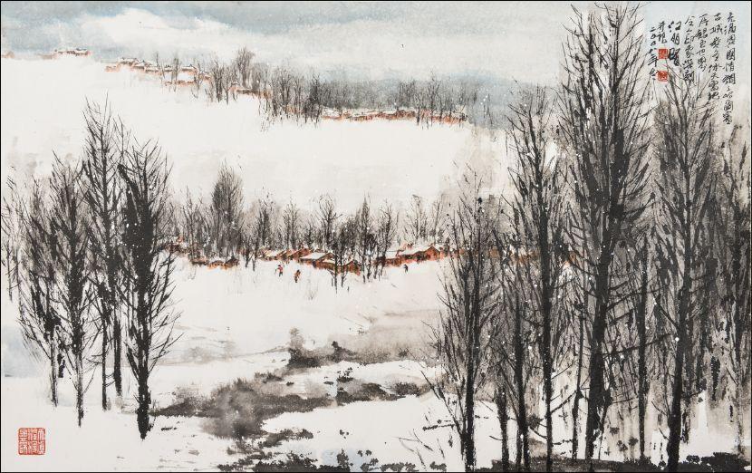 江明賢-雪景