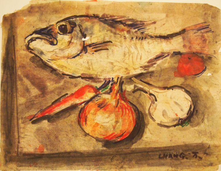 張萬傳-待烹的鮮魚