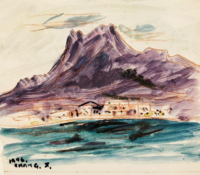 張萬傳-紫色的山