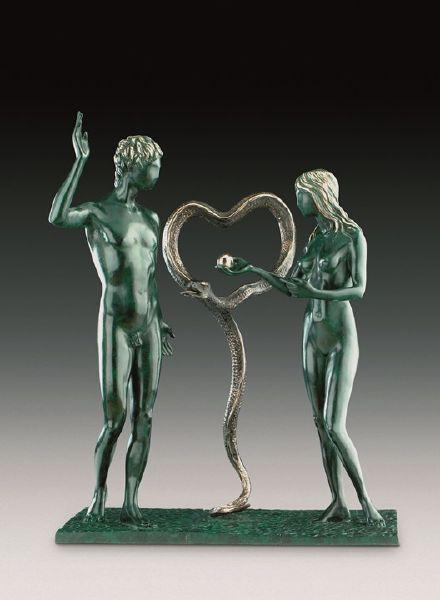 薩爾瓦多.達利-亞當與夏娃