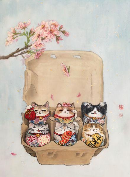 鄭宜欣-彩蛋貓