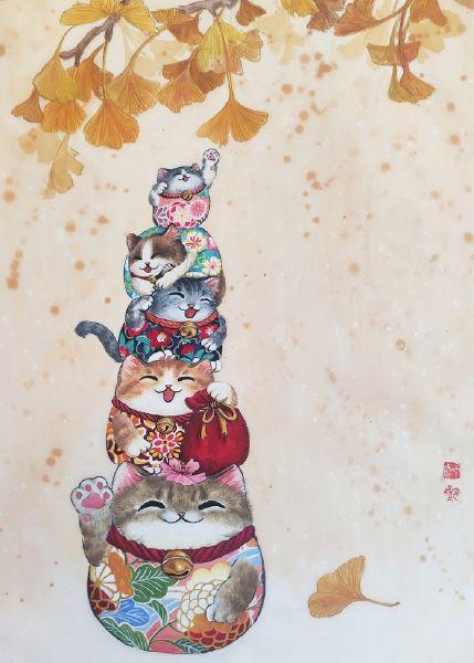 鄭宜欣-五福貓
