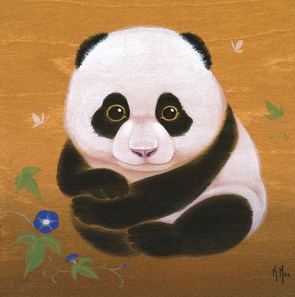 徐鈺樺 -Panda and Morning Glories 團團