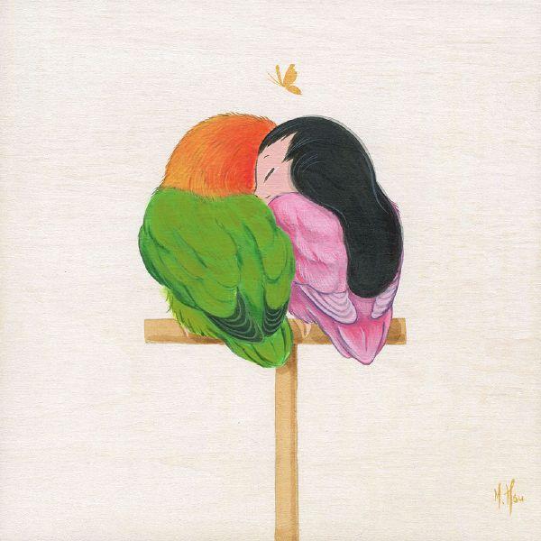 徐鈺樺 -LoveBirds-Love  小鳥依人-幸福