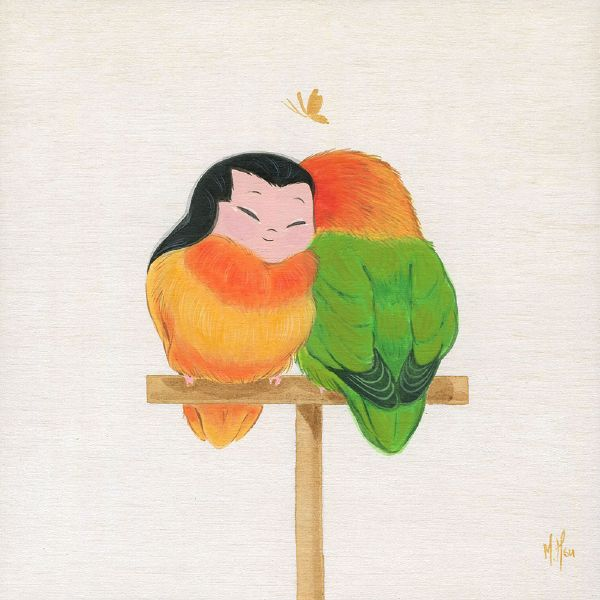 徐鈺樺 -LoveBirds-Joy  小鳥依人-喜悅