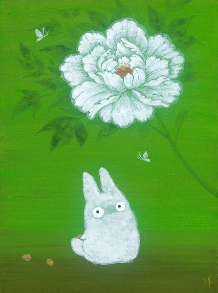 徐鈺樺 -牡丹與小森靈