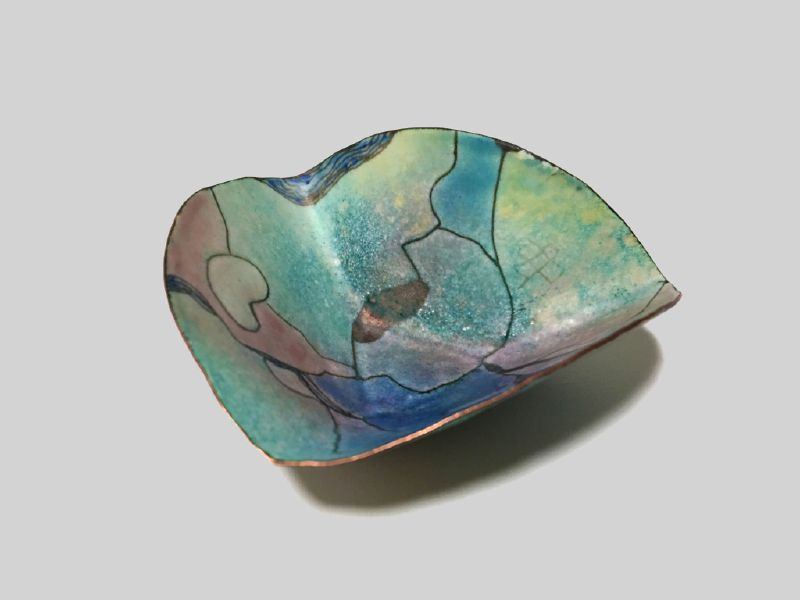 珠蒂.史東-Triangular bowl