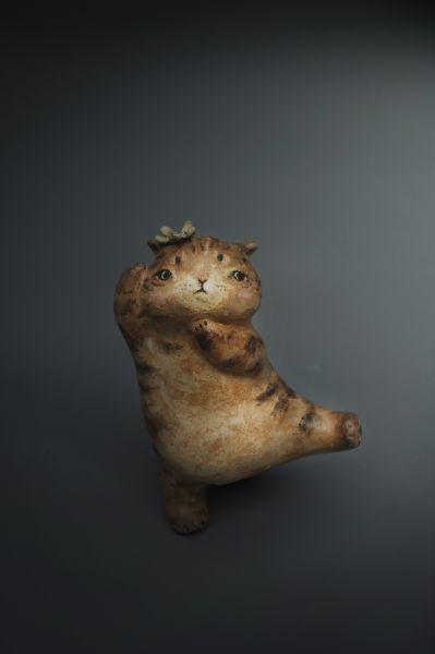 白昱軒-「跳舞貓系列」 小貓1號
