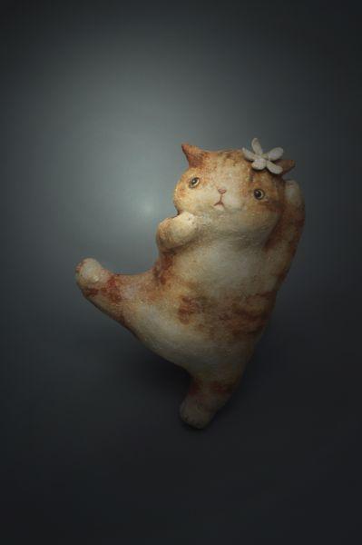 白昱軒-「跳舞貓系列」 小貓3號