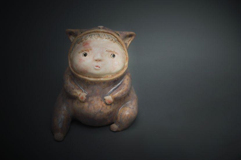 白昱軒-「放空當貓系列」 小貓人1號