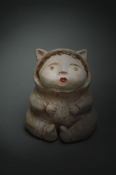 白昱軒-「放空當貓系列」 小貓人3號