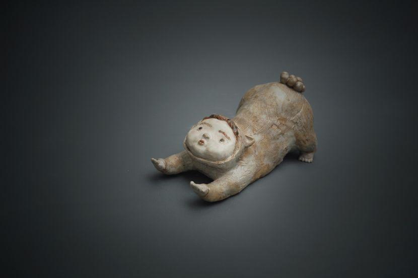 白昱軒-「得以伸展當貓系列」 放空自在伸懶腰2號