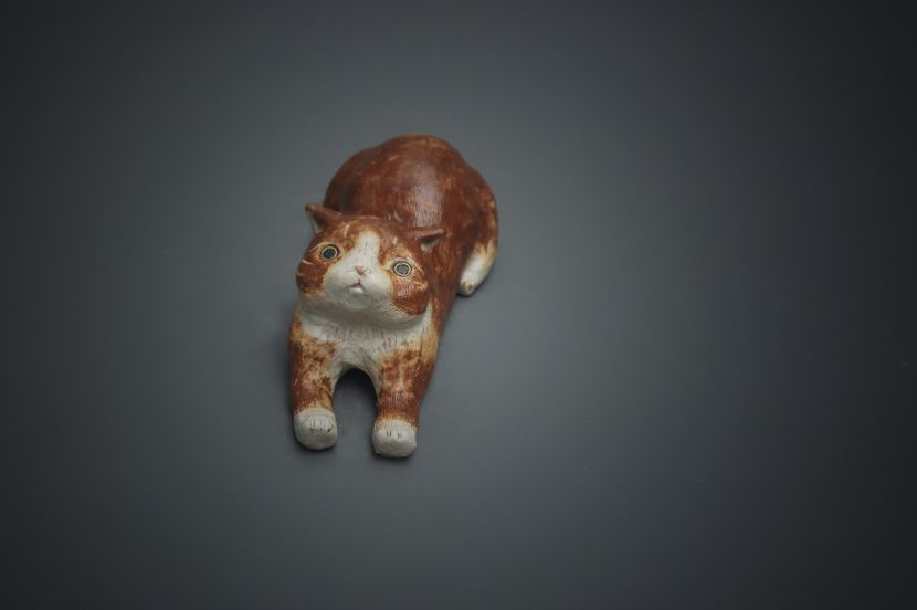 白昱軒-「得以伸展當貓系列」 放空自在伸懶腰3號
