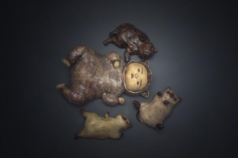 白昱軒-「躺著耍廢當貓系列」 一起耍賴吧 貓人