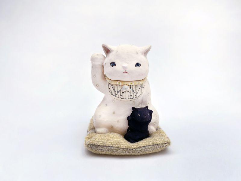 白昱軒-白-招財貓