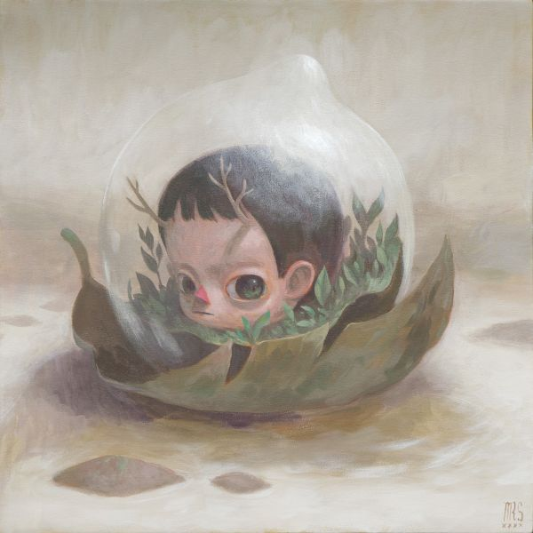 Mark Jeffrey Santos-Living in a bubble