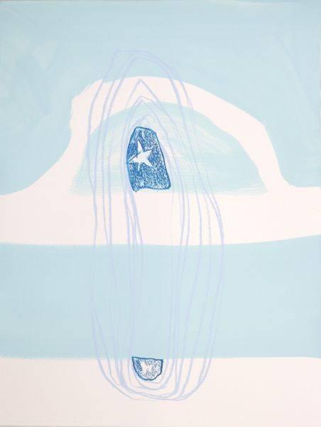 賈奈娜・查普-藍色的思緒#1