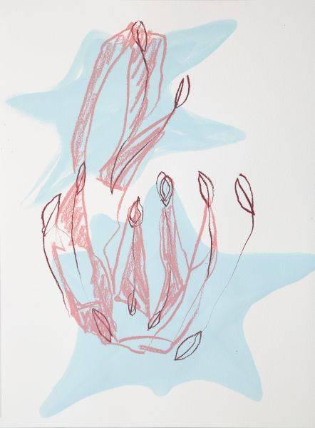 賈奈娜・查普-藍色的思緒#3