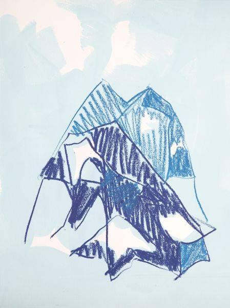 賈奈娜・查普-藍色的思緒#4