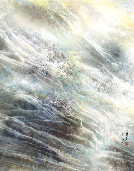 江麗香-斜陽逐浪