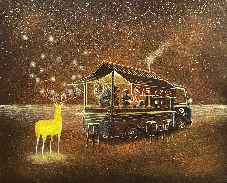 海至-光鹿與拉麵車