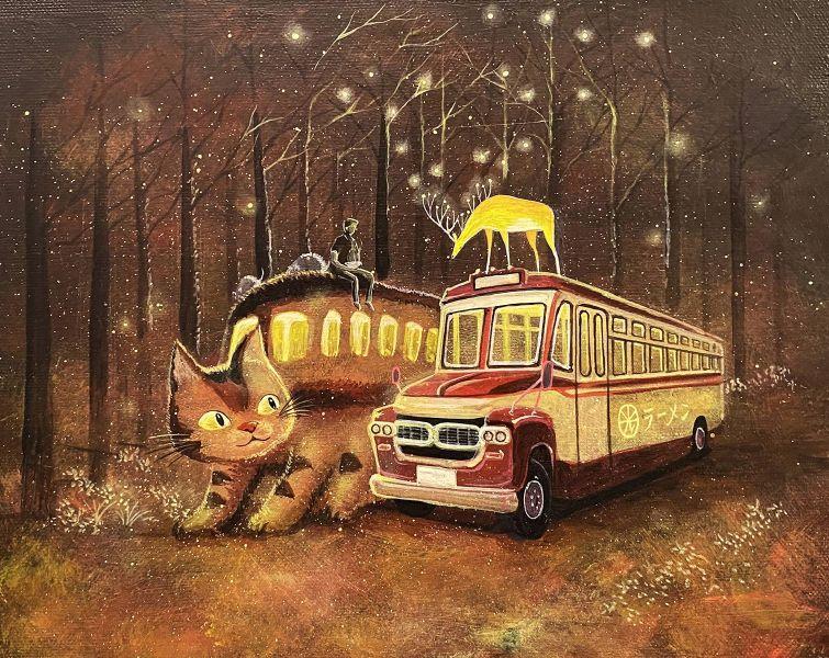 海至-等一個人拉麵公車