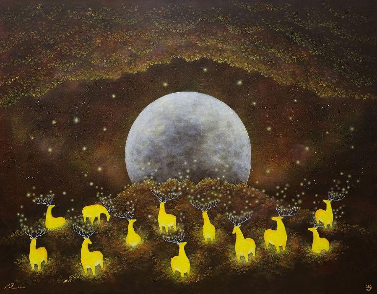 海至-滿月的光鹿森林