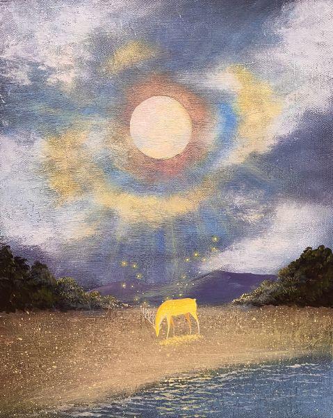 海至-太陽光鹿